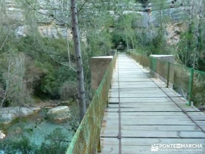 Alto Mijares -Castellón; Puente Reyes; visitar lagunas de ruidera club escalada ropa termica deport